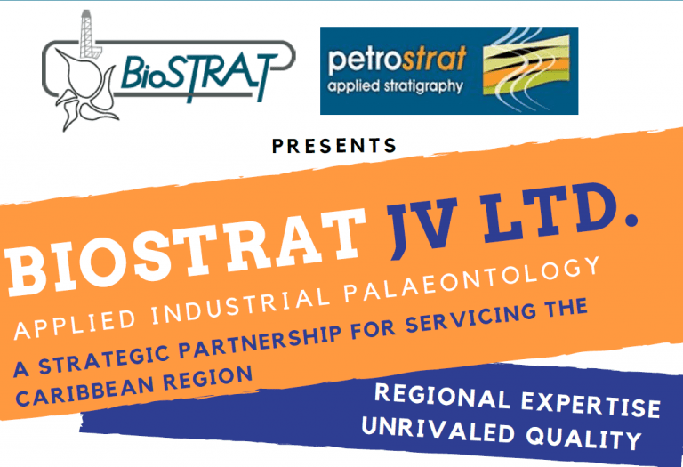 Biostrat JV Ltd Joint Venture of PetroStrat and Biostratigraphic Associates in Trinidad and Tobago