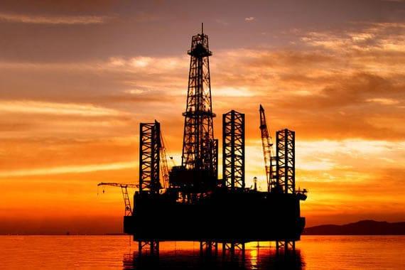 PetroStrat Oil Rig Sunset 570x380