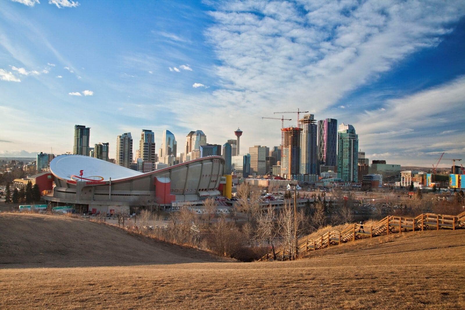Petrostrat Canada Ltd Our Calgary Base Photo of Downtown Calgary