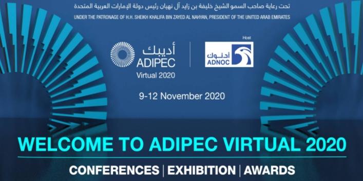 PetroStrat ADIPEC Virtual Event 9th 11th November 2020 Conference Banner