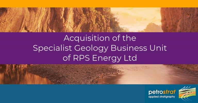 PetroStrat Announces Acquisition of Specialist Geology Business Unit from RPS Energy Featured Image