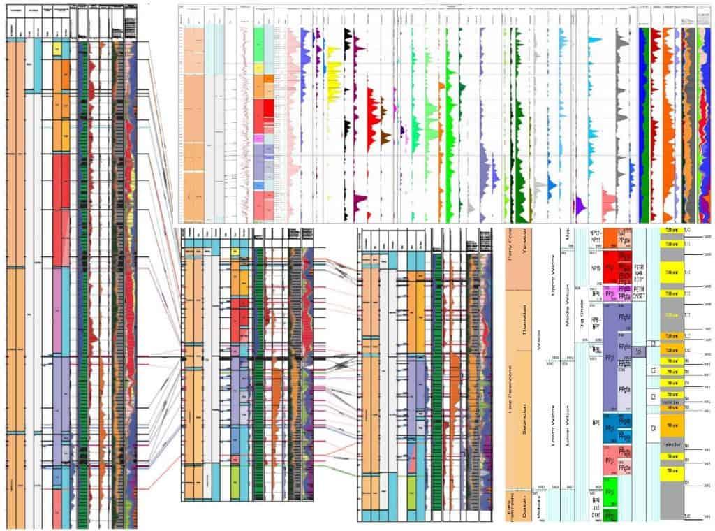 Mexican Perdido Study High Resolution Biostratigraphy of the Paleogene PetroStrat Example Dataset