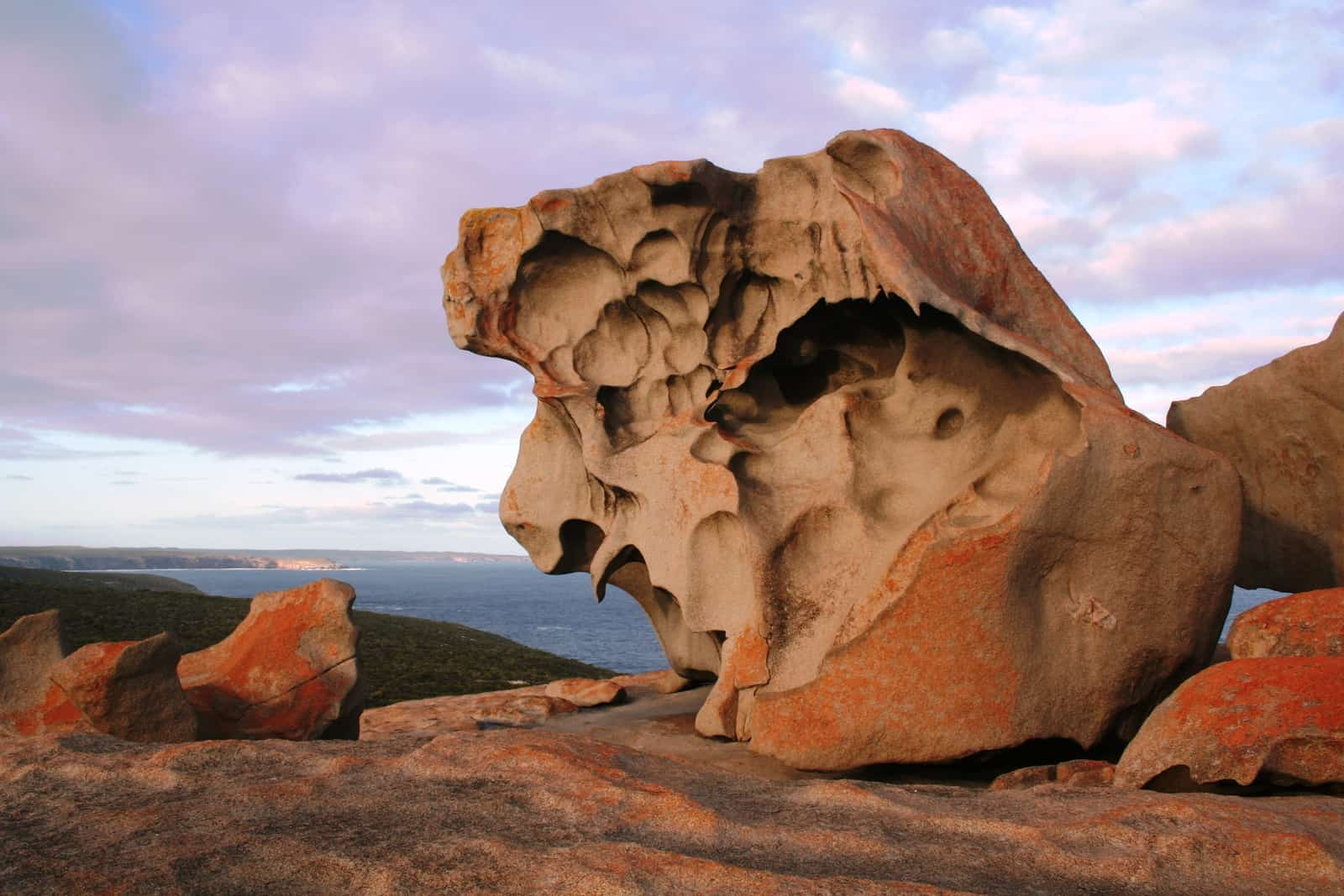 PetroStrat Geological Formation At Sunset